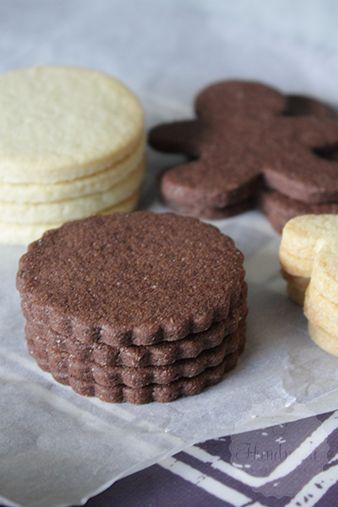 Chocolade suiker koekjes | HandmadeHelen