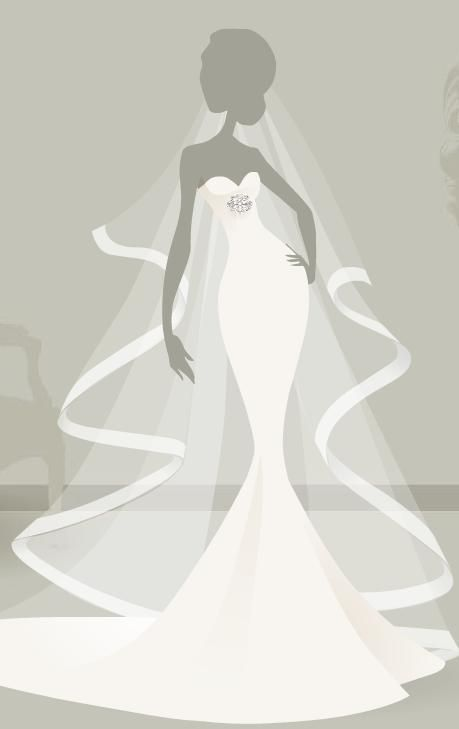step 7 choose a silhouette design your own wedding dress http