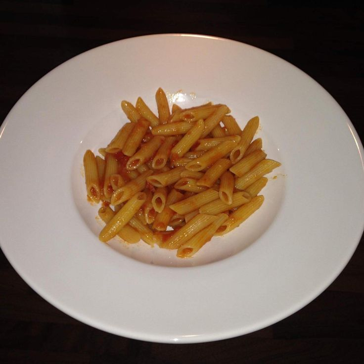 Pasta all' amatriciana echt italienisch!