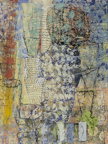 Eva Isaksen - Works on Canvas - Erode