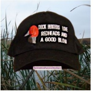 Funny Duck hunting hat