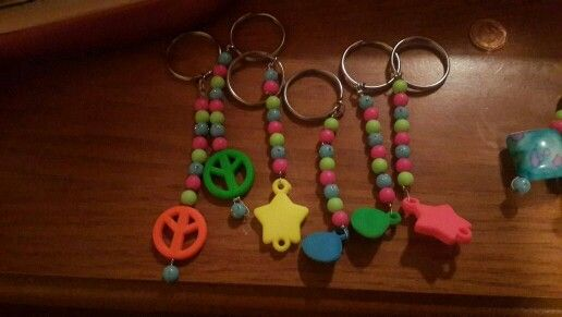 Kiddies keyring the funky gift idea R15 each