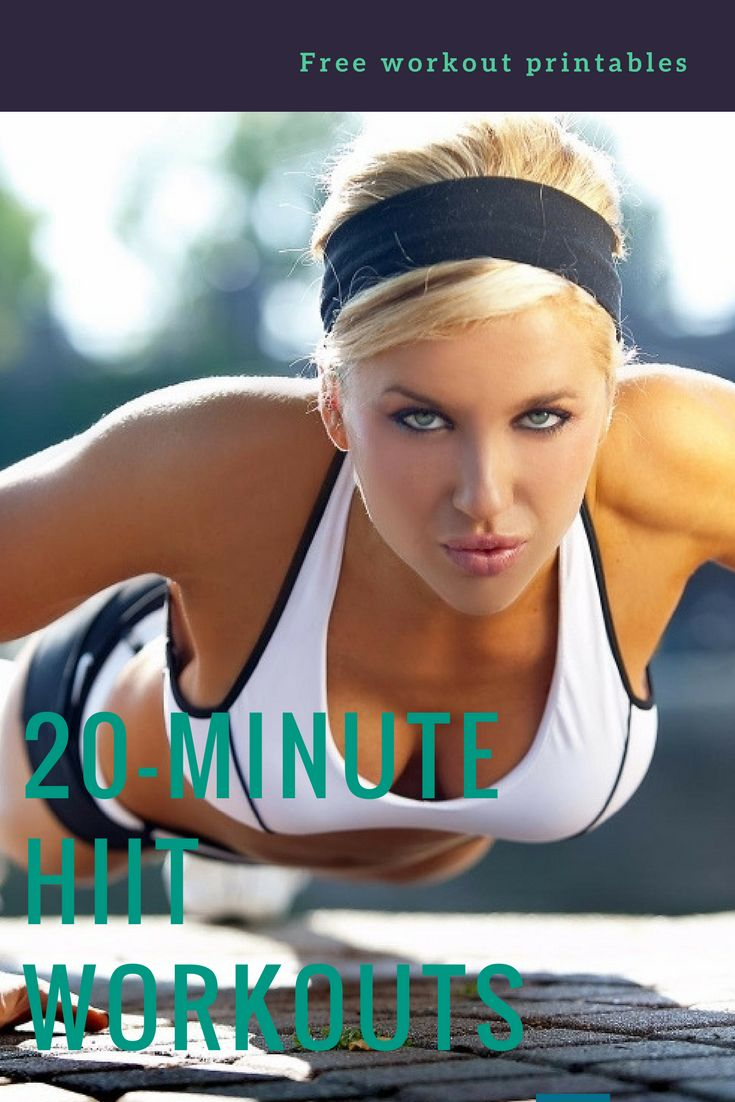HIIT workouts | Cardio | 20-minute workouts