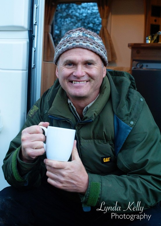 Photography By Lynda Kelly Client Caravan Club with Simon King TV wildlife presenter and Caravan Club Member.