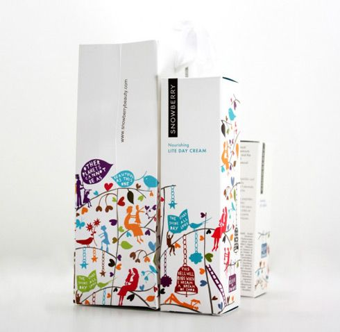 Sweet illustration for this packaging.
