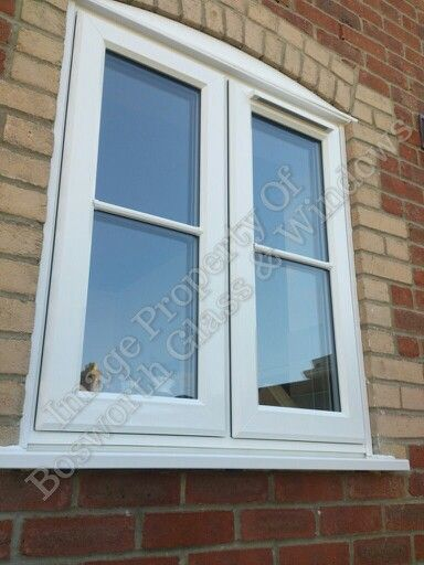 Cottage style upvc window installed in chickerell for Upvc french doors dorset