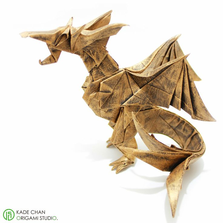 How To Fold An Origami Fiery Dragon