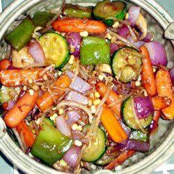 Teriyaki Vegetable Stir Fry