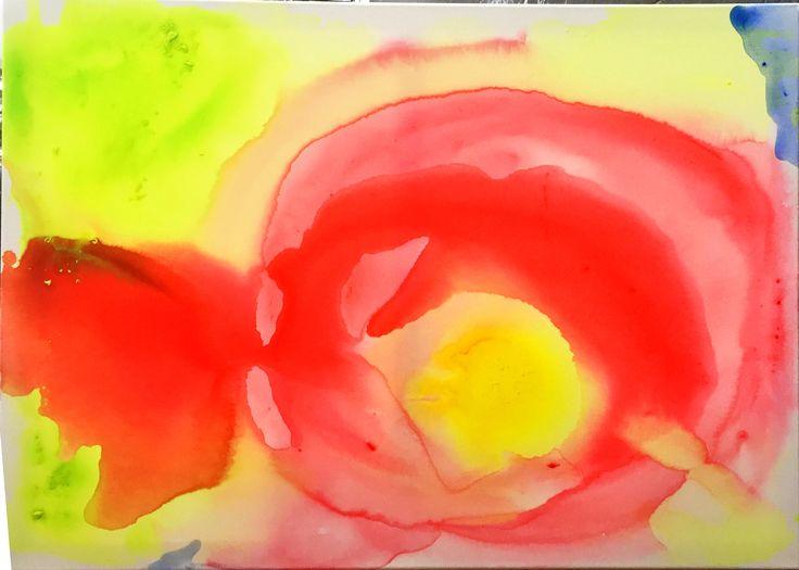 Marimekko Midsummer Chant Inspiration II 2018/01 acrylic paint