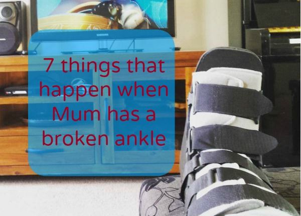 A broken ankle can be a great Netflix and pizza moment. Unless you're a parent. #parenting #pbloggers #brokenankle #netflix #parentingpreschoolers #parentingtoddlers