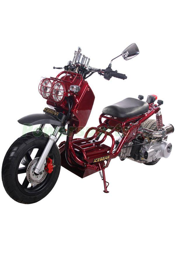 MC-Q004 Icebear 150cc Maddog Scooter With Automatic
