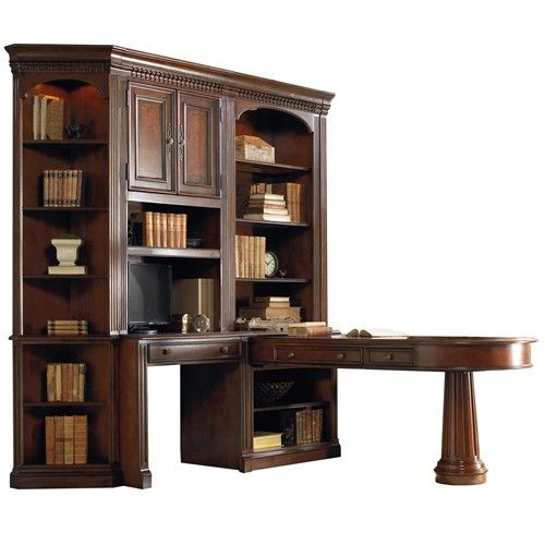 European Renaissance II Office Wall Unit With Dual Access