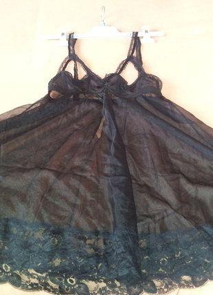 À vendre sur #vintedfrance ! http://www.vinted.fr/mode-femmes/tenues-de-nuit/33743442-vintage-nuisette-sexy-noire