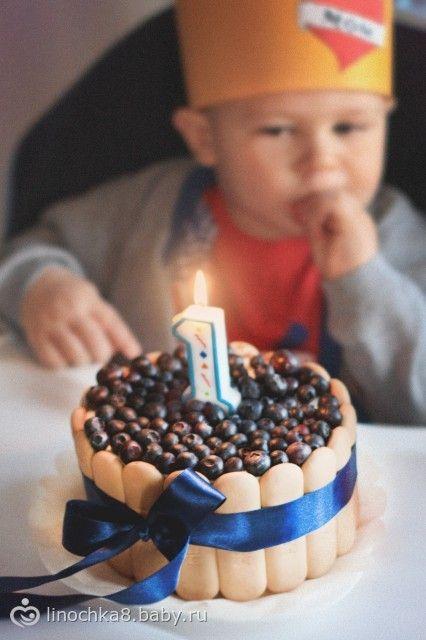 Первый рецепт торта ребенку на 1 год: