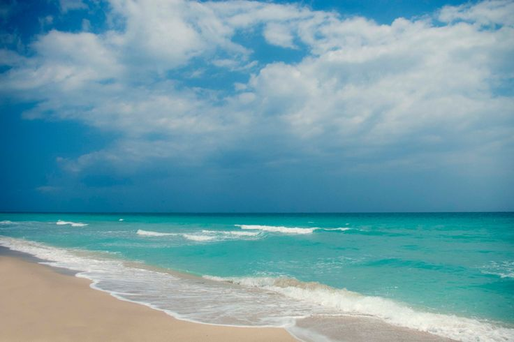 Day at the beach, blue on blue, sea sand and sky, Miami, Florida, nature photography, fine art photography, 8x12 photograph by KaremPirela on Etsy