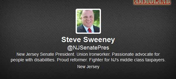 Steve Sweeney Twitter Account