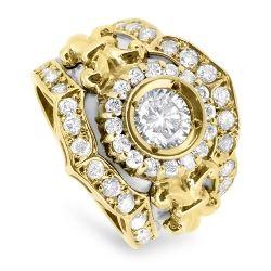 1.26cts Diamond Ring