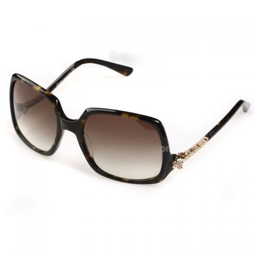 cartier ladies brown gradient sunglasses with tortoisegold frame online sale