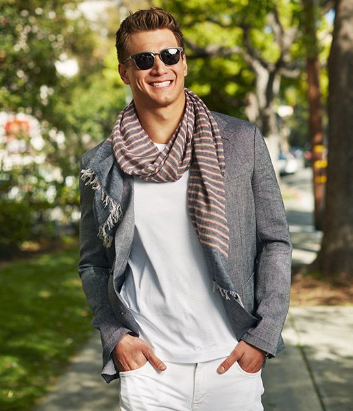Such an amazing smile. Nathan Adrian for Tommy Hilfiger spring 2016.