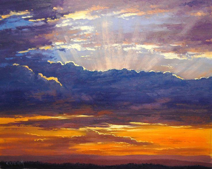 Sunrise Clouds by artsaus.deviantart.com on @DeviantArt