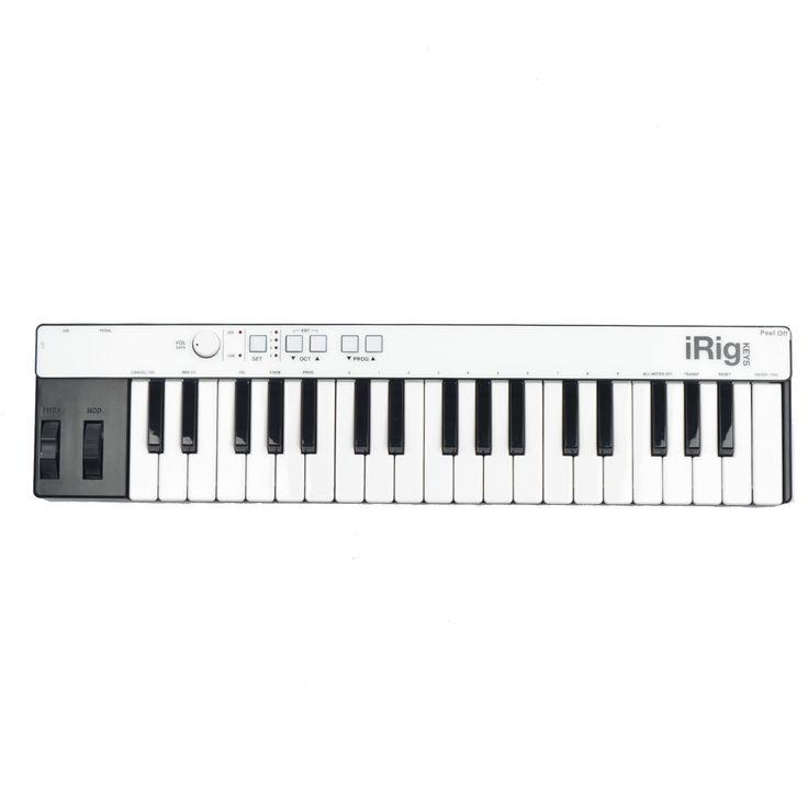 IK Multimedia iRig Keys with Lightning MIDI Keyboard for iOS Devices
