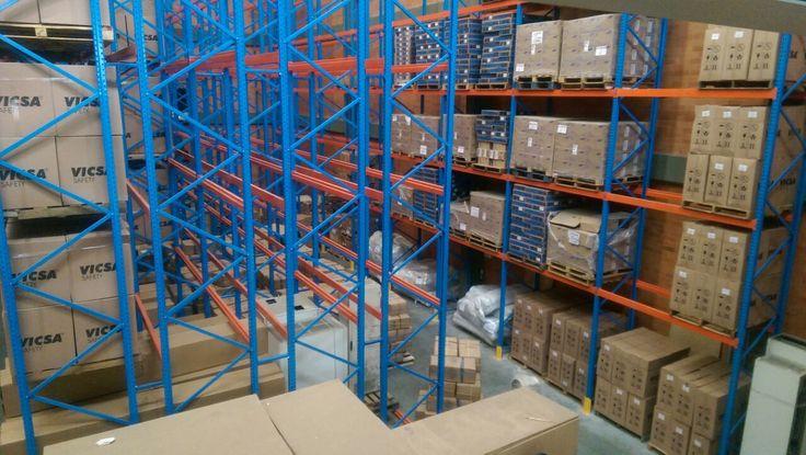 sitos de almacenamiento