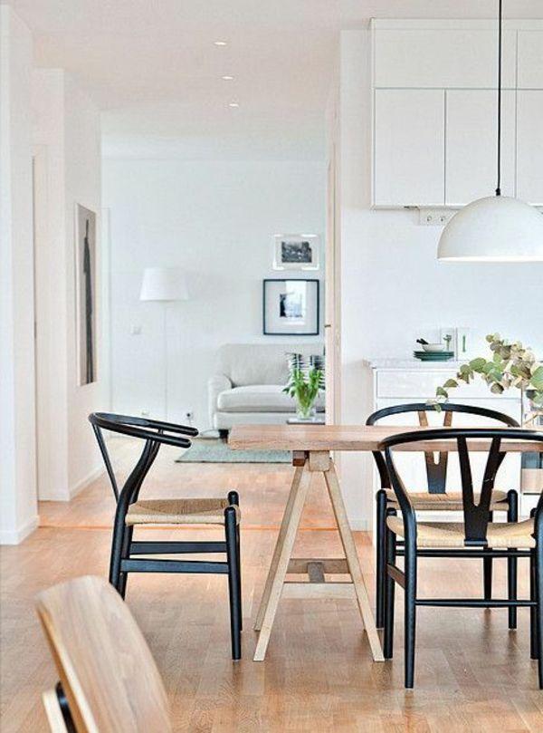 Die besten 25+ Holztisch auf holzboden Ideen auf Pinterest - feuer modernen design rotes esszimmer