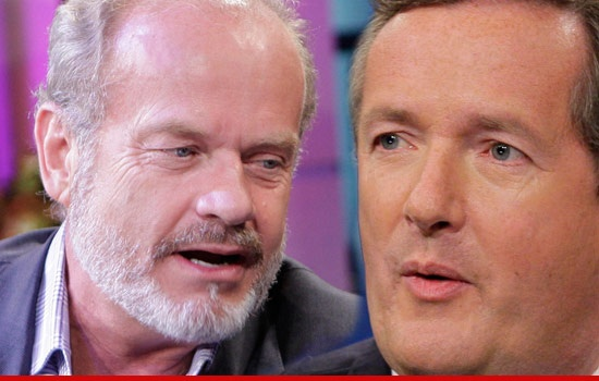 Kelsey Grammer bolts from CNN Interview Over Camille Grammer Pic.: Photo