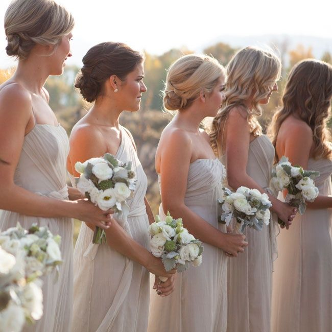 25+ Best Ideas About Champagne Colored Bridesmaid Dresses