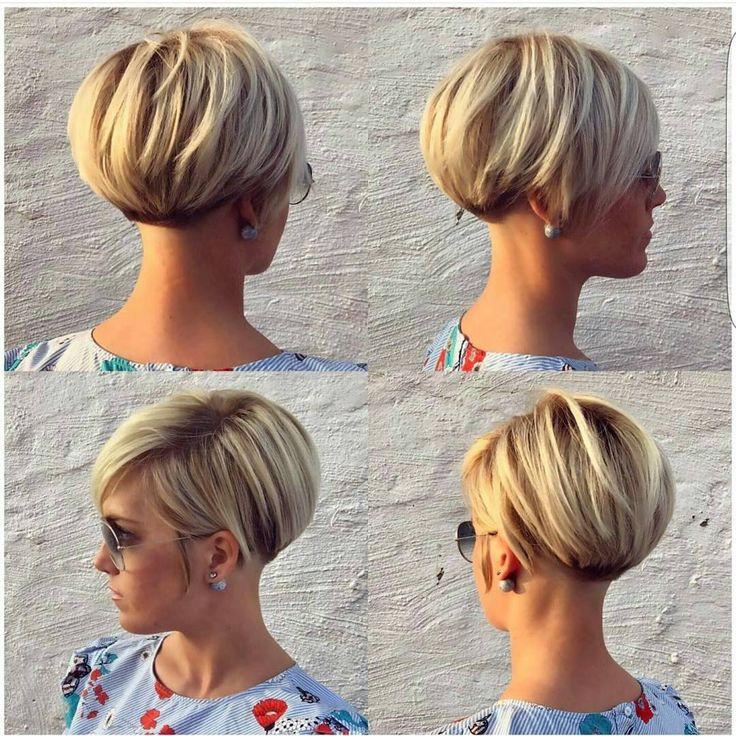 "8,549 Likes, 83 Comments - Short Hairstyles  Pixie Cut (@nothingbutpixies) on Instagram: ""A pixie 360 by @lavieduneblondie"""