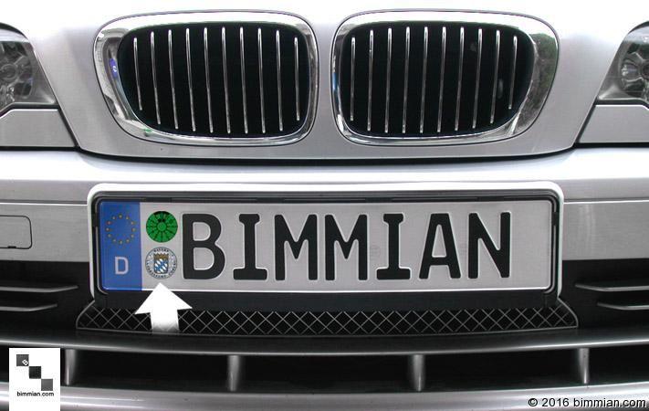 BMW Authentic European License Plates - BIMMIAN