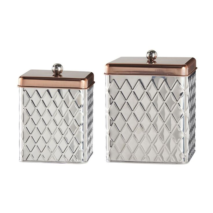 Global Amici Madagascar 2-pc. Kitchen Canister Set, Multicolor