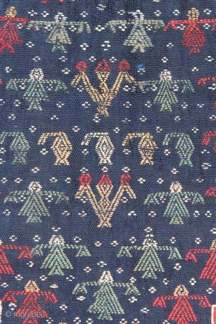Embroidered Qashqai Saddle Cover.