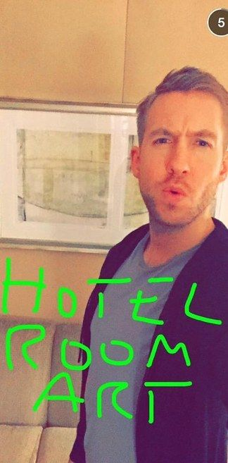Calvin Harris | 18 Celebrity Snapchat Accounts You Need To Follow Right Now