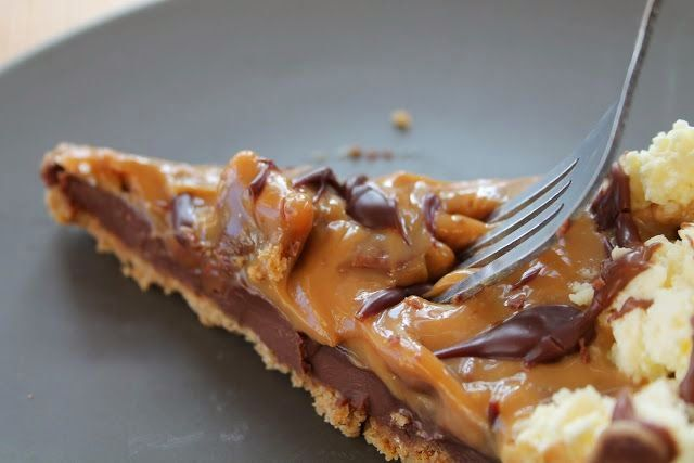 Curly Wurly Pie | OMG, yes you read that correctly, a 'curly wurly' pie...!! #HellYes #FoodPorn #CurlyWurly #Recipe #Chocolate #Dessert #Ultimate #Heaven #Cadburys #Pie