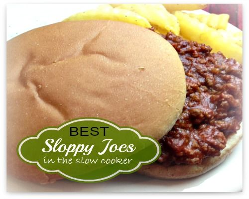 Recipe for Sloppy Joes in the Slow Cooker - The Sassy Slow Cooker