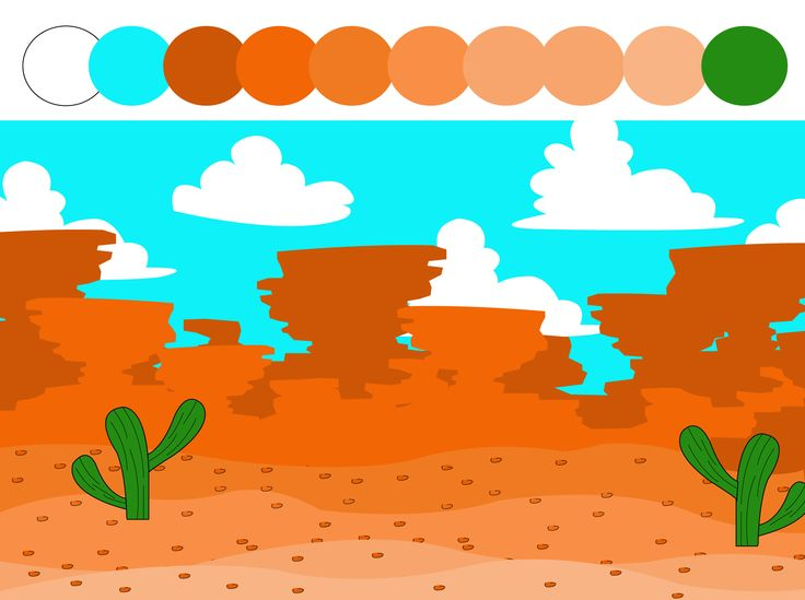 Diseño mapa 2D, herramienta Adobe Illustrator.