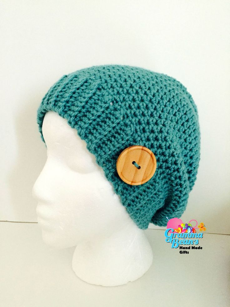 Ribbed Baby Beanie Knitting Pattern : Ribbed Slouch Beanie Pattern Handmade, Girls and Christmas