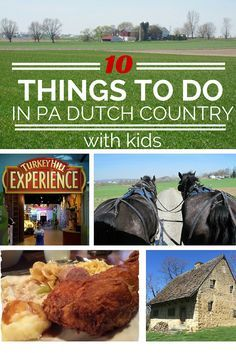 Visiting Lancaster, PA? Here are 10 things to do in Pennsylvania Dutch Country with kids...whether you are spending one day or several. Family Travel | PA Dutch Country