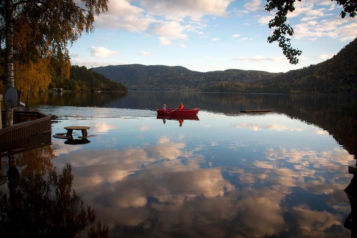 Seljordvannet, Telemark, Norway