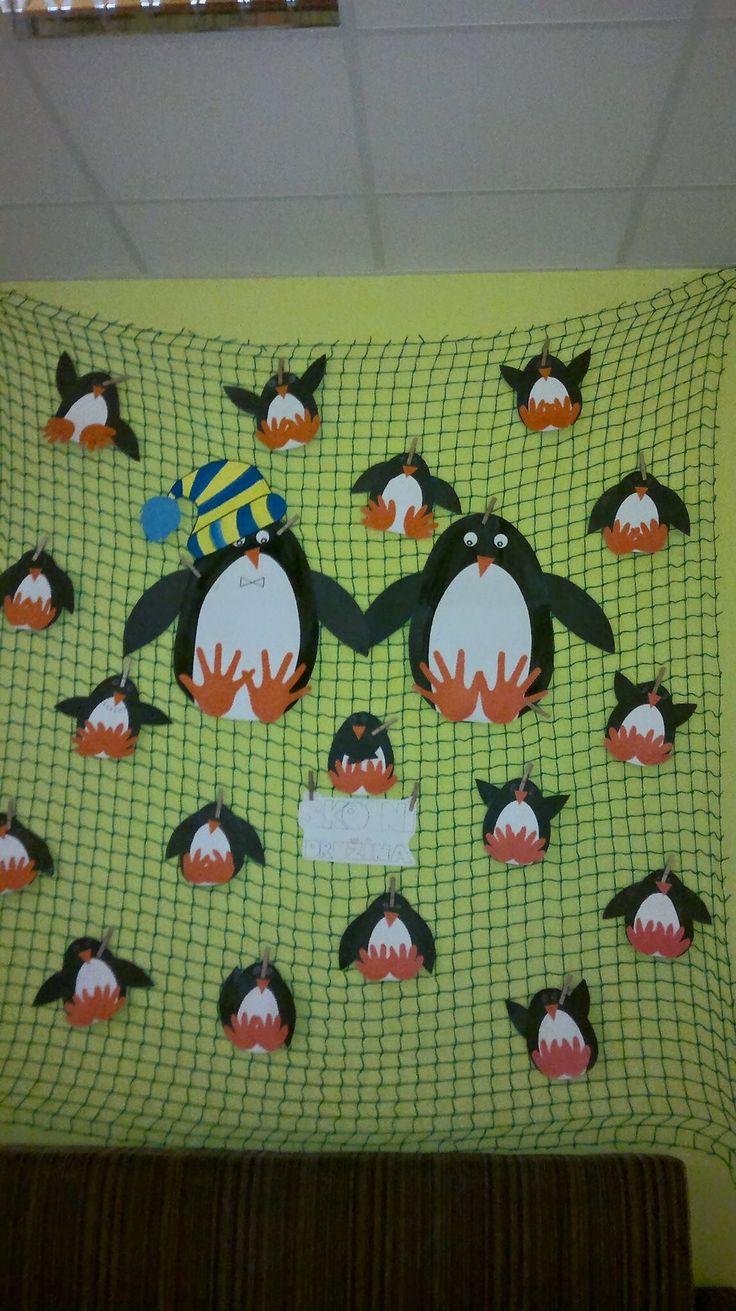 Tučňáčí rodinka