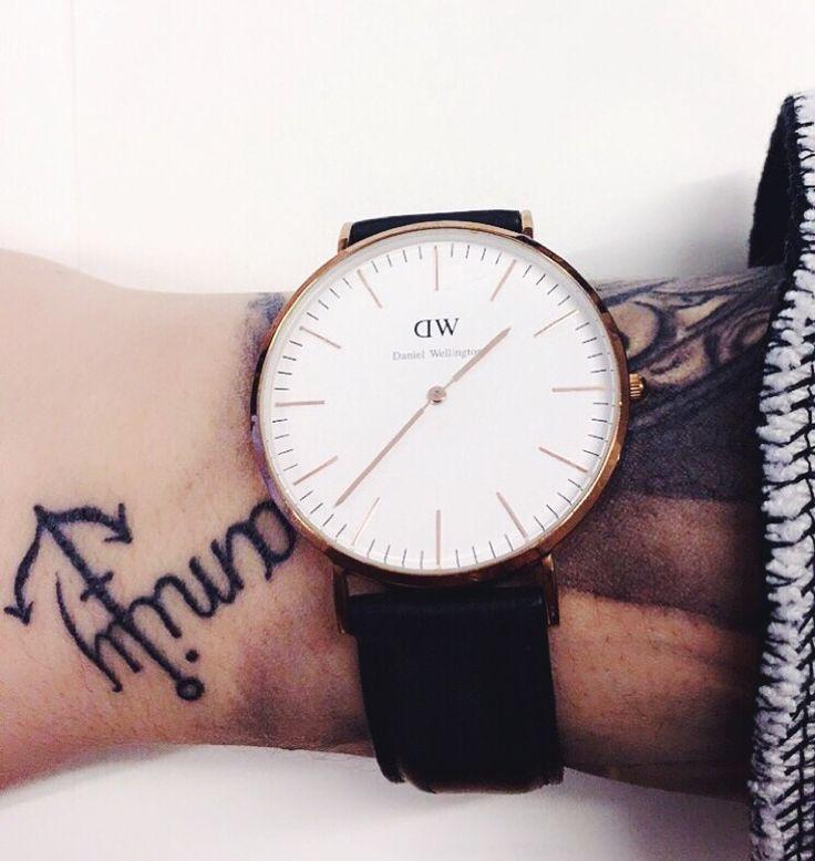 #tattoo #danielwellington #watch #family #ink
