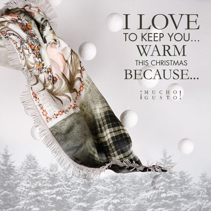 I love to keep YOU warm this Christmas because...