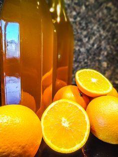 Pomerančový sirup (šťáva)