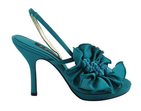 Nothing Is Wonderful Than Teal Wedding Shoes