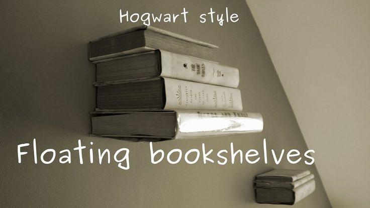 Lewitujące półki na książki ala Hary Potter