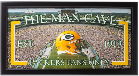 NFL-Packers-Man Cave Frame