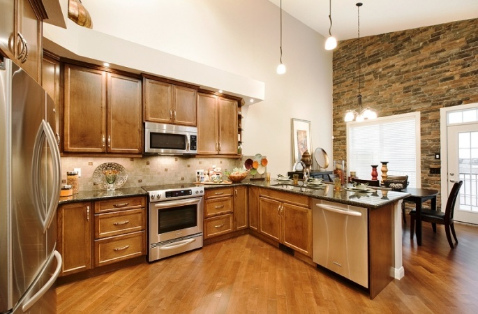 Sorrento in Evanston by Broadview Homes. Click here for more #decorating & #decor ideas: http://www.broadviewhomes.com/calgary/photo-gallery #kitchen