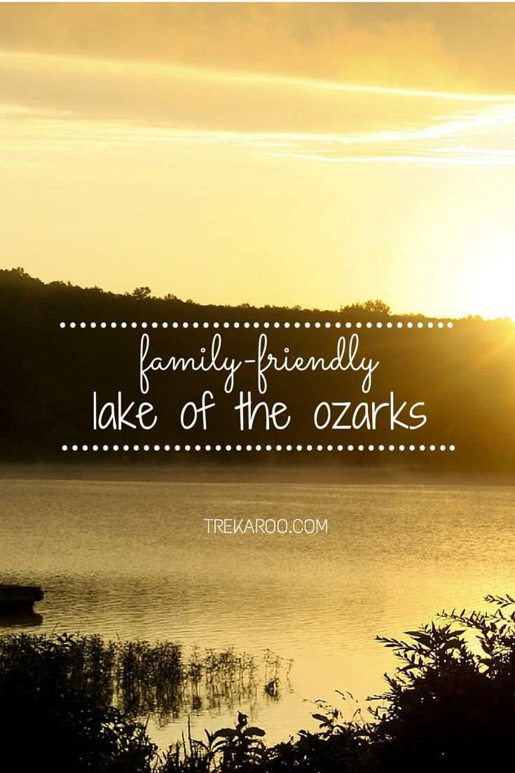 Family Fun at the Lake of the Ozarks