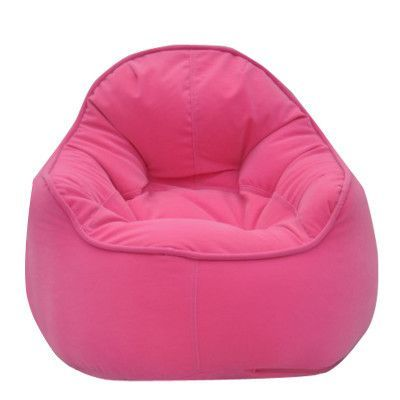 Modern Bean Bag Mini Me Pod Chair Upholstery Pink
